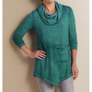 Soft Surroundings Evening Stroll Pullover Sweater